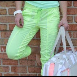 Lululemon faded zap street to studio pants